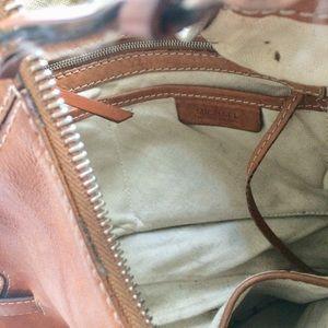 MICHAEL Michael Kors Bags - Michael Kors Tan Shoulder Bag Silver Metal Buckles